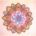 Another watercolor mandala.  12